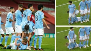 Ruben Dias Hilariously Drags Oleksandr Zinchenko Along The Pitch By His Head