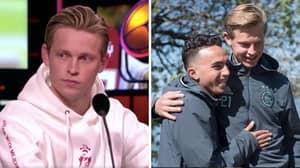 Frenkie De Jong Tells Emotional Story Of How Abdelhak 'Appie' Nouri Inspired Him To Join Barcelona