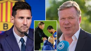 Ronald Koeman Names The Barcelona Star Who Will Replace Lionel Messi At The Camp Nou