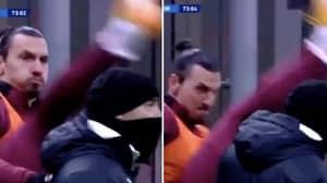 Zlatan Ibrahimovic Performed The Most Zlatan Ibrahimovic Warm-Up Routine Against Torino