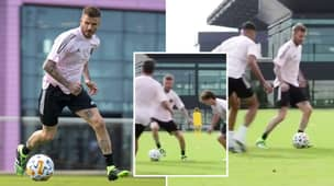 David Beckham Joins In Training With Inter Miami's Academy And Proves He's Definitely Still Got It
