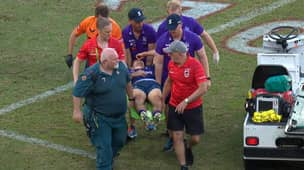 Ryan Papenhuyzen Stretchered Off After Copping Horror High Shot From Tyrell Fuimaono