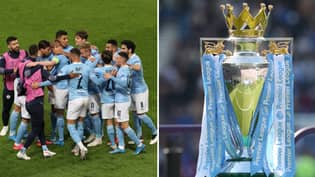 Manchester City Have Won The Premier League For The Fifth Time