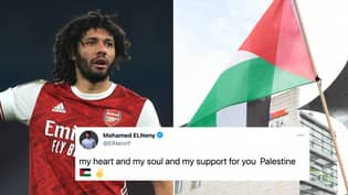 Arsenal 'In Urgent Talks' With Sponsor After Mohamed Elneny Posts Support For Palestine On Social Media