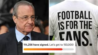 Petition Calling For European Super League To Be Banned Smashes 100,000-Signature Mark In Just TWO Days