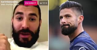 Throwback To Karim Benzema Brutally Savaging Olivier Giroud In Instagram Rant