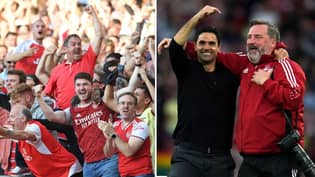'Embarrassing' Arsenal Fans Told To 'Get A Grip' For Celebrating Tottenham Result Like They'd Won The Champions League