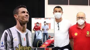 Cristiano Ronaldo 'Misses' Juventus Training To Pick Up £1.4M Ferrari And His Teammates Are Furious