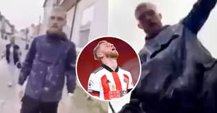 New Footage Shows Oli McBurnie Was Disgustingly Provoked Before Street Attack