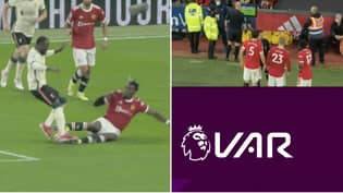 Paul Pogba Sent Off For Dangerous Tackle On Naby Keita, He Lasted Just 15 Minutes