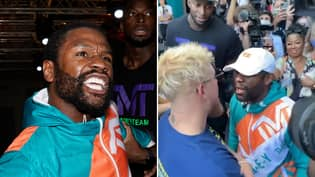 Floyd Mayweather Breaks Silence After Controversial Brawl With Jake Paul