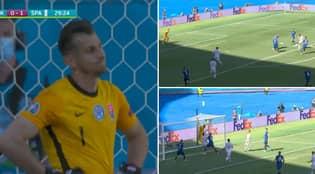 Martin Dubravka's Shocking Own Goal Against Spain Is The Biggest Howler Of Euro 2020 So Far