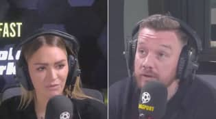 Laura Woods Brilliantly Shuts Down Jamie O'Hara On Live Radio After Tottenham Claim