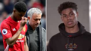 Marcus Rashford Throws Shade At Jose Mourinho's Tactics And Playing Style