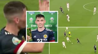 Billy Gilmour Compared To N'Golo Kante After Midfield Masterclass Against England