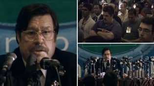 """Mike Bassett's Famous """"Four-Four-F*****g-Two"""" Press Conference Is Officially 20 Years Old"""