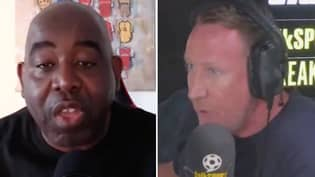 AFTV Founder Robbie Lyle And Ray Parlour Had A Heated Debate After Gunners Legend Claimed Fan Channel 'Want Arsenal To Lose'