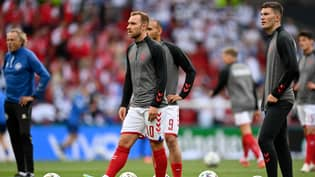 Christian Eriksen Is Stable And Has Been Taken To Hospital, UEFA Confirm
