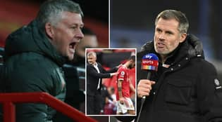 Ole Gunnar Solskjaer Is Fuming With Jamie Carragher For Comments On Manchester United Excuses