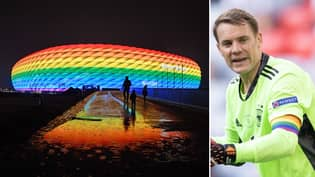 UEFA Have Blocked Germany From Lighting Up The Allianz Arena With Rainbow Colours