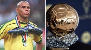 Ronaldo Nazário Names His Winner Of The Ballon d'Or