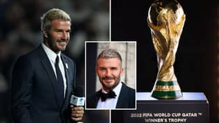 David Beckham Set To Sign Massive Deal To Be The Face of The Qatar World Cup
