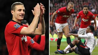 Nemanja Vidic Was Voted The Greatest Premier League Centre Back Ever