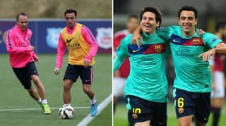 Two Minute Video Of Lionel Messi, Xavi and Andres Iniesta Shows How They Perfected Tiki-Taka