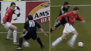 John O'Shea's Nutmeg On Luis Figo Is Still One Of Football's Greatest Moments
