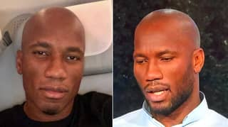 People Are Freaking Out About Didier Drogba Being Bald