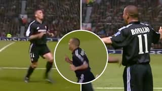 16 Years Ago Today, Ronaldo Scored A Hat-Trick Against Manchester United In The Champions League