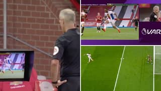 Manchester United Concedes Penalty After Disastrous Calls From VAR