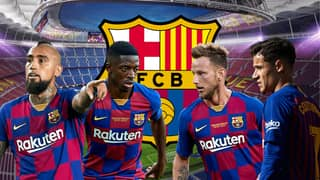 Barcelona Have Placed 12 Players On The Transfer List Ahead Of Summer Clear-Out