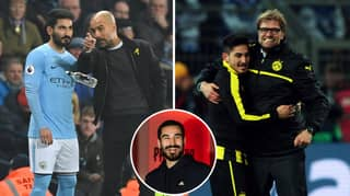Ilkay Gundogan Reveals What It's Like To Play For Pep Guardiola And Jurgen Klopp