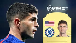 Fans Fume Over Christian Pulisic's FIFA 21 Card