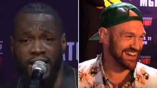 Deontay Wilder Responds To Tyson Fury's Bizarre Masturbation Admission