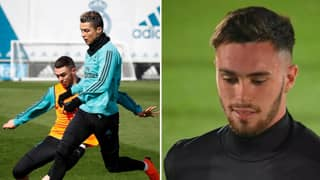 A Heavy Tackle On Cristiano Ronaldo Meant Manu Hernando Never Trained With Real Madrid First Team Again