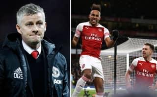 Ole Gunnar Solskjær Suffers First League Defeat After Arsenal Beat Manchester United