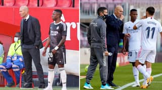 Zinedine Zidane Has 'Brutally Sidelined' Vinicius Junior After Fall-Out