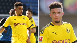 The Bizarre Rule That Means Jadon Sancho's Hat-Trick At The Weekend 'Doesn't Count'