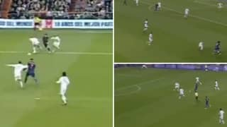 When A 19-Year-Old Lionel Messi Destroyed Roberto Carlos And Fabio Cannavaro