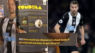 Newcastle Defender Florian Lejeune Bizarrely Reveals How He'd Dispose Of A Dead Body