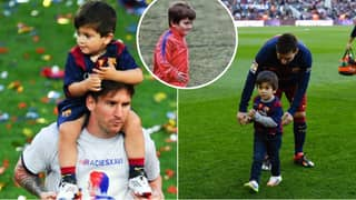 Lionel Messi Reveals The Six Players His Son Thiago Talks About