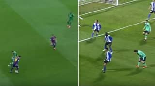 Compilation Of Lionel Messi Fooling Opponents Without Touching The Ball Proves He's A Genius