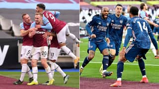 Arsenal Come From Three Goals Down To Draw 3-3 With West Ham