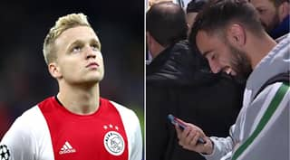 Bruno Fernandes Reacts To Man Utd Agreeing Personal Terms With Donny Van De Beek