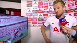 When Harry Kane Was Forced To Re-Watch His 'Dive' Against Arsenal By Geoff Shreeves