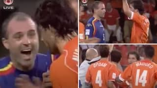 Ruud Van Nistelrooy's Revenge Celebration Against Antoni Lima Was Peak Sh*thousery In Football