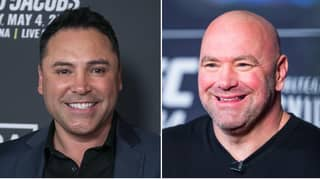 Oscar De La Hoya Fires Back At UFC President Dana White For Cocaine Comment