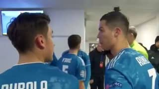 Cristiano Ronaldo And Paulo Dybala Caught B*tching About Juventus Midfielders